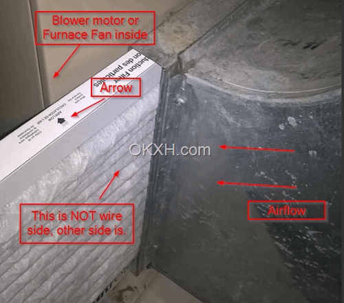 Insert furnace filter with right direction okxh so now you might understand how the furnace filter works and know which direction is the right one publicscrutiny Images